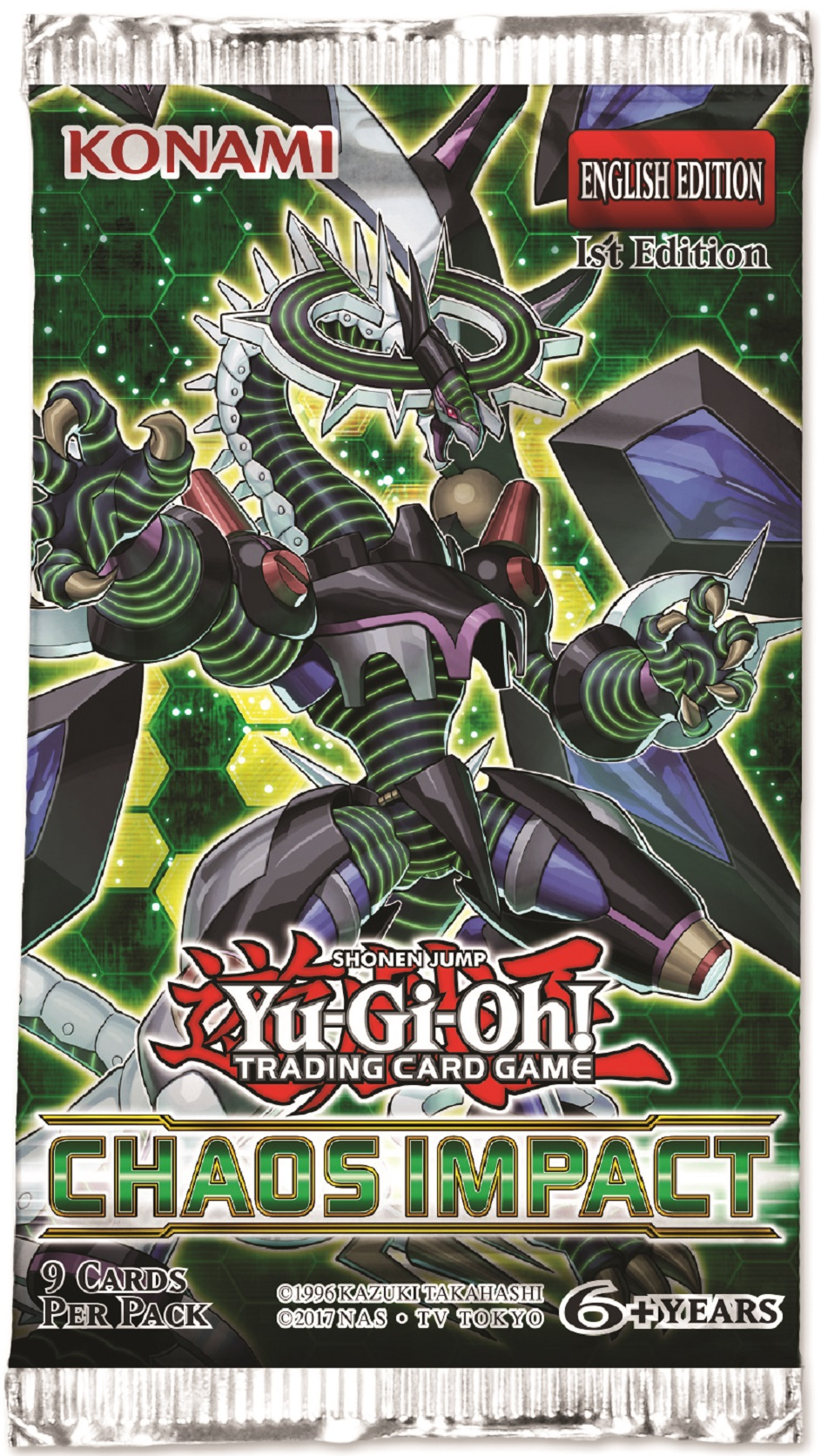 Unchained Soul of Disaster Unlimited Edition Secret Rare CHIM-EN010 Yu-Gi-Oh!
