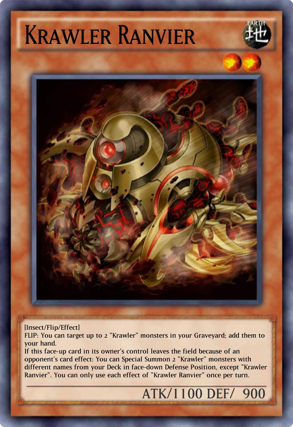 Krawler Ranvier Duel Links Yugipedia Yu Gi Oh Wiki