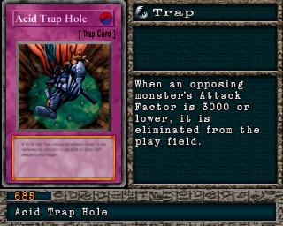 ♦ trap Acid vf//rare : mil1-fr044 acid trap hole ♦ yu-gi-oh