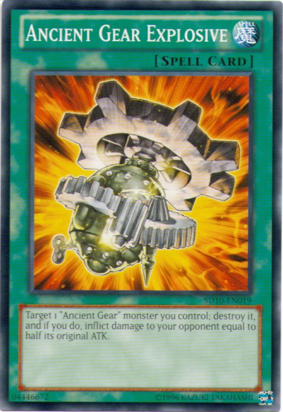Ancient Gear Beast Yugioh Card Genuine Yu-Gi-Oh Trading Card