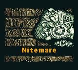 Stage 5: Nitemare