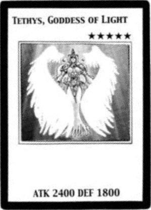 Tethys, Goddess of Light (manga) - Yugipedia - Yu-Gi-Oh! wiki