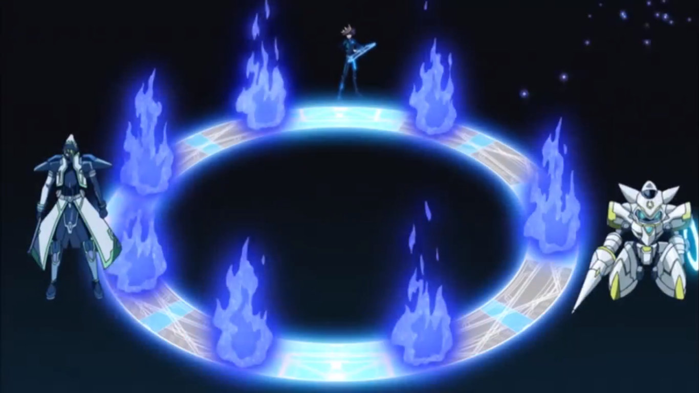 Vrains' standardized animation for rituals.