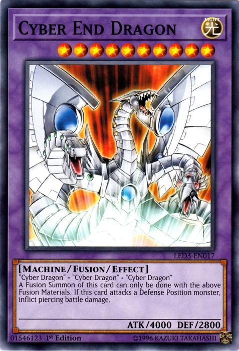 Yugioh Cyber End Dragon Secret Rare LCGX-EN182 Near Mint Alternate Art