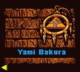 Dark Stage: Yami Bakura