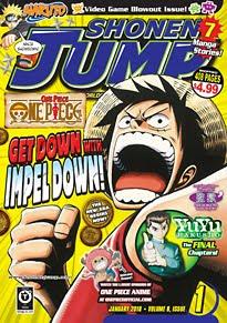 Shonen Jump Vol. 8, Issue 1