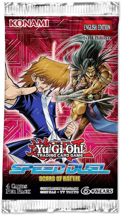 YU-GI-OH Speed Duel Scars of Battle SBSC-de tedesco carte scegliere a 1 EDIZIONE