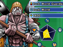 Dark World Guardian - Gigori in Stardust Accelerator
