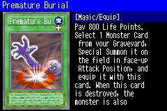 Premature Burial (SDD) - Yugipedia - Yu-Gi-Oh! wiki
