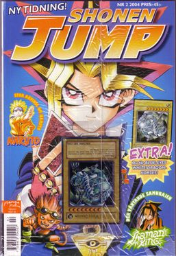 Swedish Shonen Jump 2004, Issue 2
