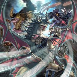 """""""Rafale"""", """"Dyna"""", """"Sagitta"""", and """"Fandora"""" in the artwork of """"Mayhem Fur Hire"""""""