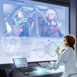 """""""Winder"""", """"Redoer"""", """"Perpetua"""" and """"Bezel Ship"""" in the artwork of """"Time Thief Retrograde"""""""