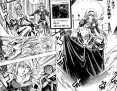 "Tilla Mook with ""Vampire Lady"" (upper left) and ""Vampire's Curse"" (bottom right)."