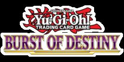 Burst of Destiny Premiere! promotional card