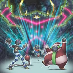 """Crashbug Z"", ""Crashbug X"", ""Crashbug Y"" and ""Super Crashbug"" in the artwork of ""Bug Switch"""