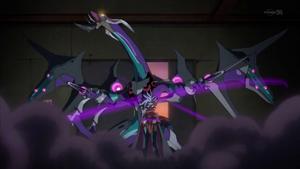 """Mr. Mystery"" Xyz Summons ""Dark Rebellion Xyz Dragon""."