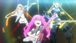 "Romin Kirishima plays a rocking beat alongside ""Prima Guitarna"" and ""Esperaid""."