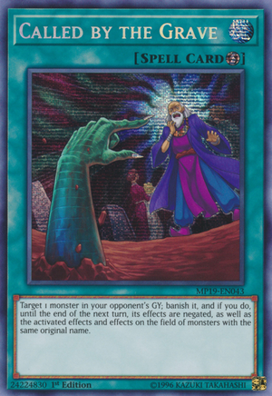 Called by the Grave - Yugipedia - Yu-Gi-Oh! wiki