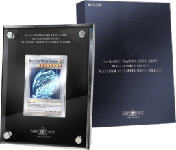 Masterpiece Series: Platinum Blue-Eyes White Dragon