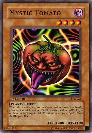 Card Errata:Mystic Tomato - Yugipedia - Yu-Gi-Oh! wiki