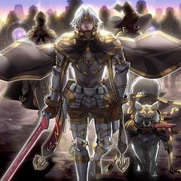 """Jain"", ""Lumina"", ""Lyla"" and ""Ryko"" in the artwork of ""March of the Dark Brigade"""