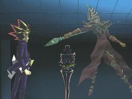 Yami Yugi and Arkana's Duel