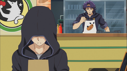 Kolter asks Yusaku to ally with him.