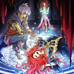 """Gishki Avance"", ""Gishki Emilia"" and ""Gishki Noellia"", in the artwork of ""Aquamirror Cycle""."