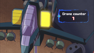 The readout for Drone Counters