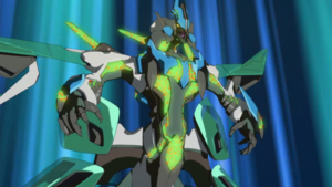 """Z-ARC calls out """"Supreme King Dragon Clear Wing""""."""