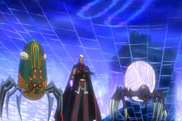 """Roman Goodwin with """"Dark Spider"""" and """"Dark Tuner Spider Cocoon"""""""