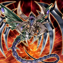 """Cyberdark Dragon"", the Fusion of ""Horn"", ""Edge"", and ""Keel"""