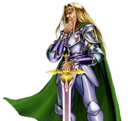 """""""Freed the Matchless General"""" equipped with """"Divine Sword - Phoenix Blade""""."""