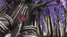 """Specter's mother tree evolves into its strongest form, """"Sunavalon Dryatrentiay""""."""