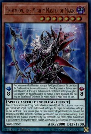 Carte Piege Yu Gi Oh Meme.Endymion The Mighty Master Of Magic Yugipedia Yu Gi Oh