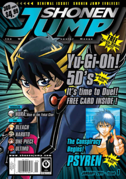 Shonen Jump Vol. 9, Issue 1