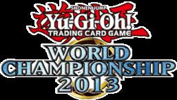 Yu-Gi-Oh! World Championship 2013 prize cards