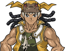 Hassleberry in Tag Force Special.