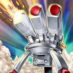 """Tri-Blaze Accelerator"" firing a ""Volcanic Scattershot"""