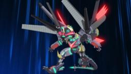 """Borreload eXcharge Dragon"" prepares to attack."