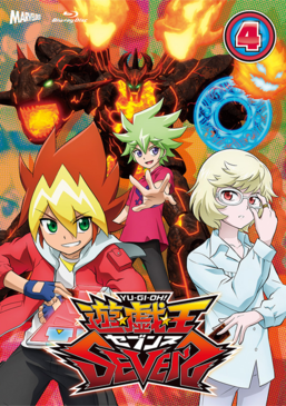 Yu-Gi-Oh! SEVENS Duel-4 Blu-ray & DVD promotional card