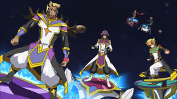 Bohman, Lightning, and Harlin flee with Jin and Windy.