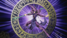 Dark Magician in Yu-Gi-Oh! 3D Bonds Beyond Time