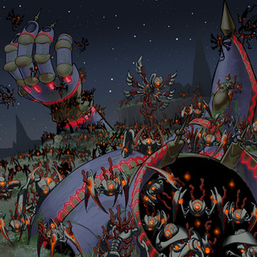 """Krawlers"" swarming over ""World Legacy - ""World Armor"""" in ""World Legacy in Shadow"""