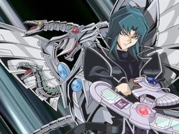 "Zane with ""Cyber End Dragon"""