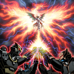 """Squire"", ""Crusader"", ""Templar"", ""Paladin"" and ""Ignister"" in the artwork of ""Ignition Phoenix"""