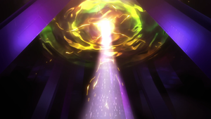 A Maximum Summon in Yu-Gi-Oh! SEVENS