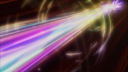"""Firewall Dragon Darkfluid"" unleashes its ""Neo Tempest Terahertz"" attack."