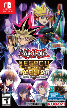 Yu-Gi-Oh! Legacy of the Duelist: Link Evolution promotional cards