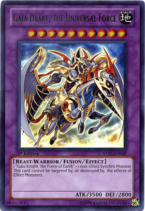 Gaia Drake The Universal Force Yugipedia Yu Gi Oh Wiki